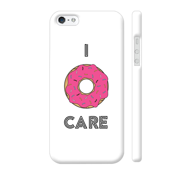 I Donut Care iPhone 5 / 5s Cover | Artist: Abhinav