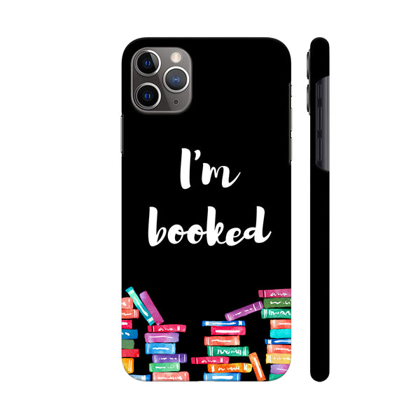 I am Booked On Black iphone 11 Pro Cover | Artist: Abhinav