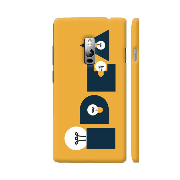Idea Bulb Yellow OnePlus 2 Cover | Artist: Abhinav