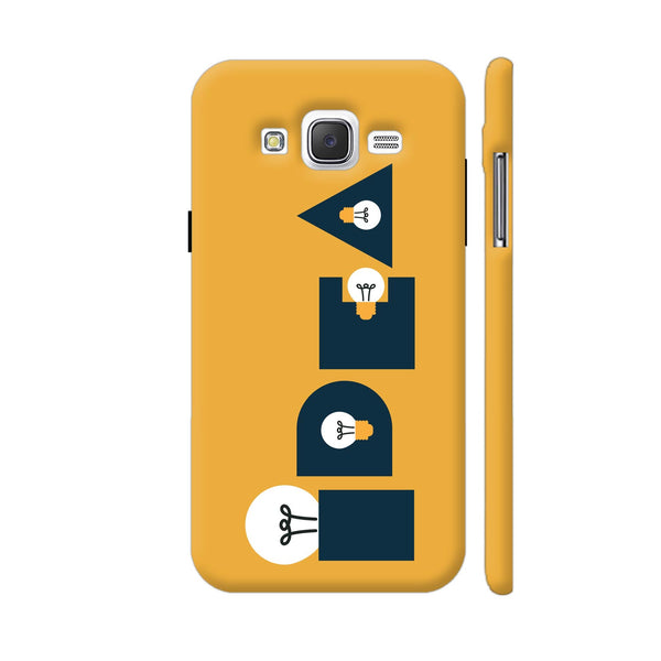 Idea Bulb Yellow Samsung Galaxy J5 Case