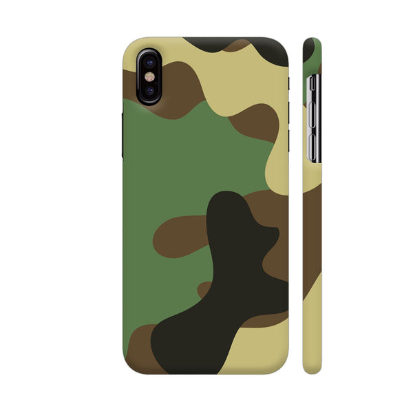 Indian Army Camouflage 2 iPhone X Cover | Artist: ianurag