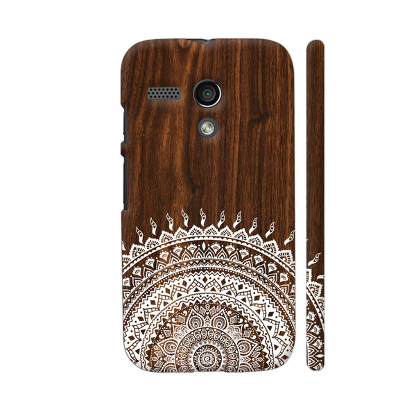 Indian Wood Motorola Moto G1 Case