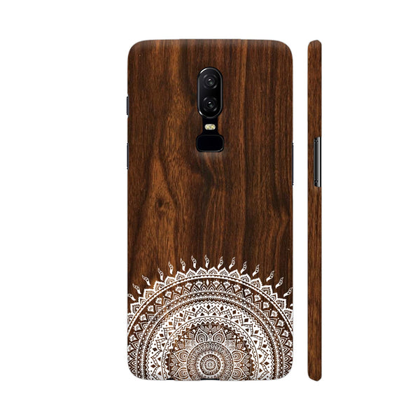 Indian Wood OnePlus 6 Cover | Artist: Abhinav