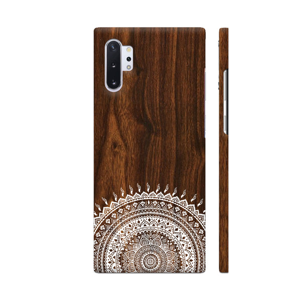 Indian Wood Samsung Note 10 Plus Cover | Artist: Abhinav