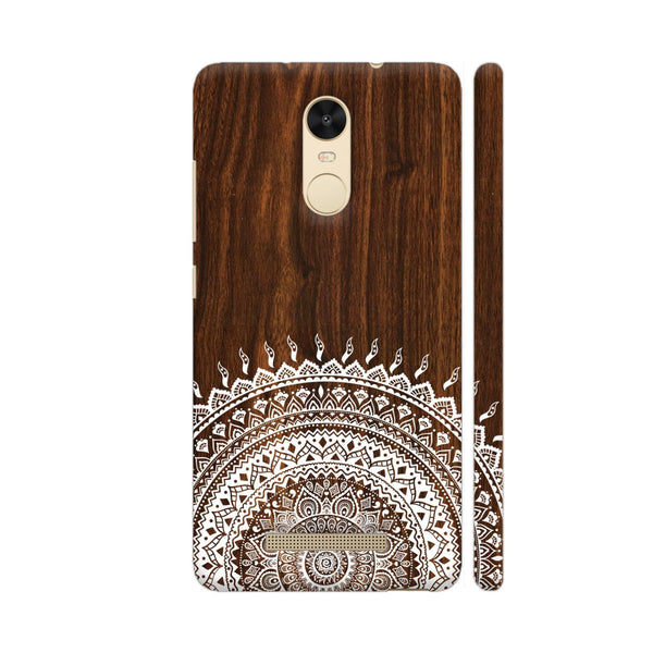 Indian Wood Redmi Note 3 Cover | Artist: Abhinav
