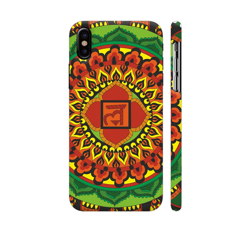 Infinite Freedom Chakra Mandala iPhone X Cover | Artist: Srishti Vataa Healing Arts