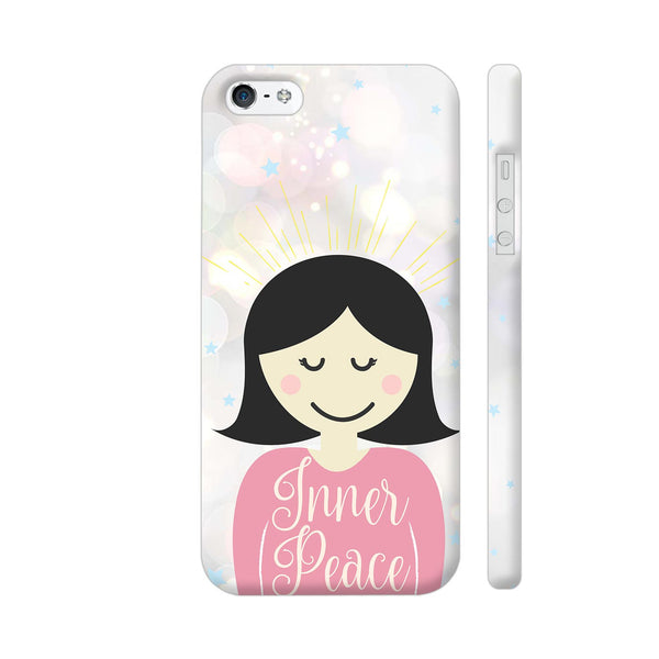 Inner Peace Happy Girl iPhone 5 / 5s Cover | Artist: Dolly P