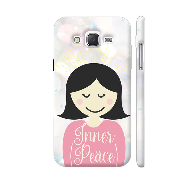 Inner Peace Happy Girl Samsung Galaxy J5 Case