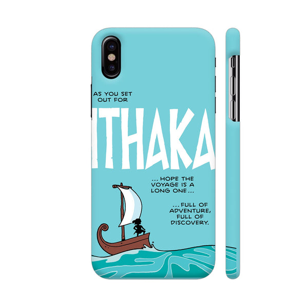 Ithaka iPhone X Cover | Artist: Zen Pencils