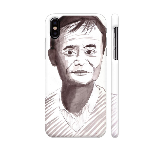 Jack Ma Is An Enigma iPhone X Cover | Artist: HeartAtArt