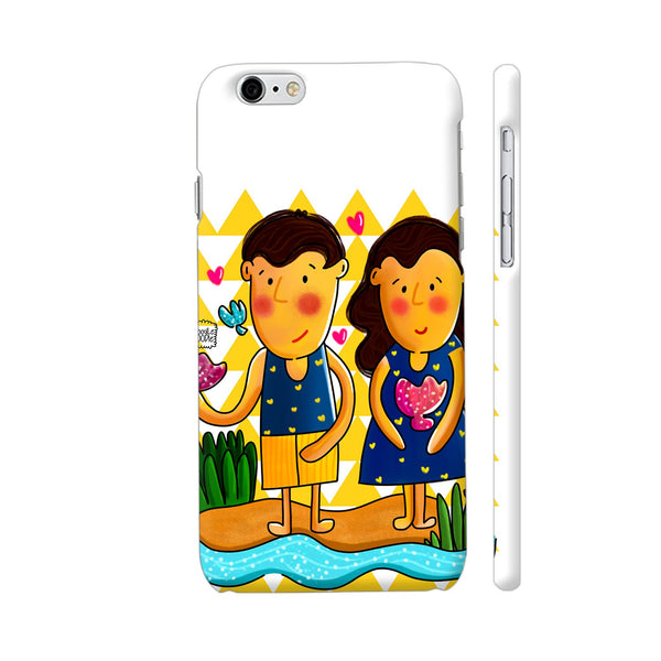 Jenny And Charlie Beach Love Apple iPhone 6 / 6s Case