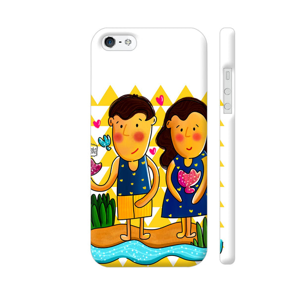 Jenny And Charlie Beach Love Apple iPhone SE Case