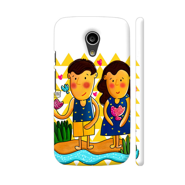 Jenny And Charlie Beach Love Motorola Moto G2 Case