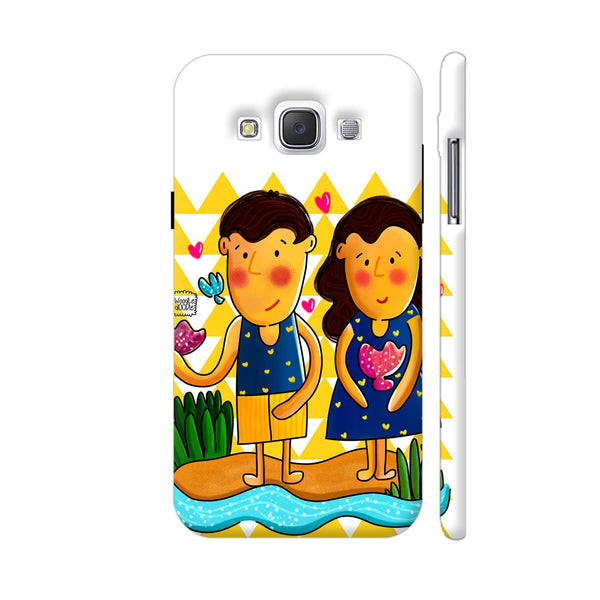 Jenny And Charlie Beach Love Samsung Galaxy E5 Case