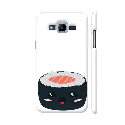 Kawaii Sushi With Salmon Samsung Galaxy J2 Pro Cover | Artist: Torben