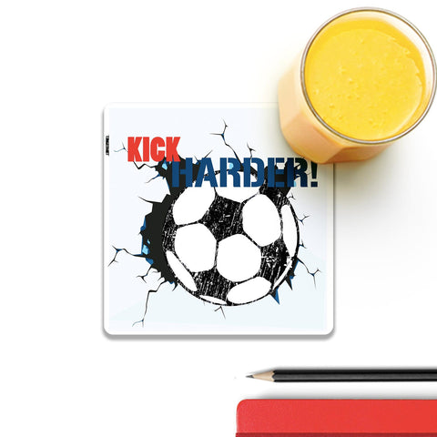 Kick Harder This Football Coaster