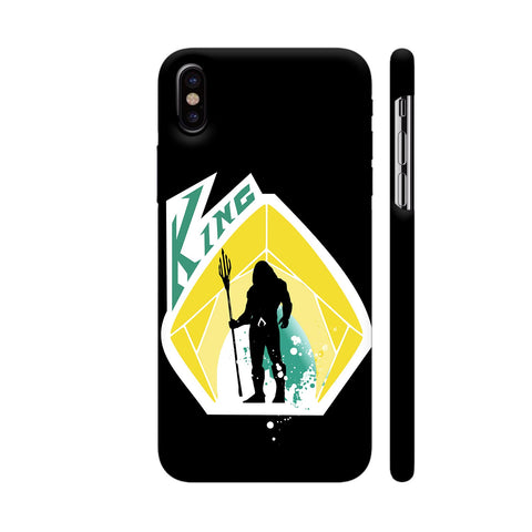 King 2 iPhone X Cover | Artist: Beaver Designs