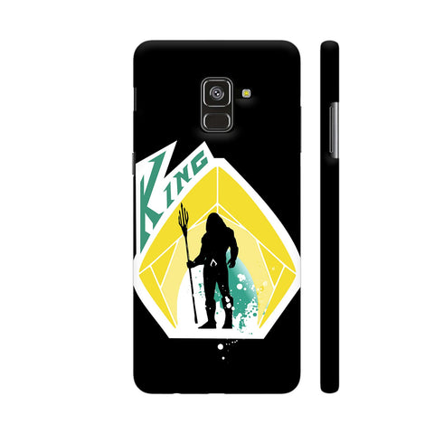 King 2 Samsung A8 Cover | Artist: Beaver Designs