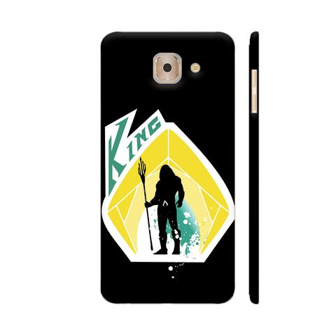 King 2 Samsung J7 Max Cover | Artist: Beaver Designs