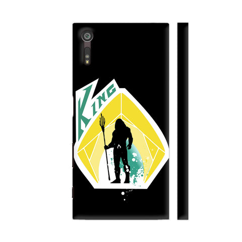 King 2 Sony Xperia XZ / XZs Cover | Artist: Beaver Designs