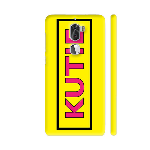 Kutie On Yellow Coolpad Cool 1 / Cool1 Dual Cover | Artist: Malls