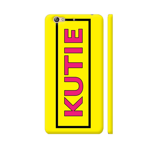 Kutie On Yellow Gionee S6 Cover | Artist: Malls