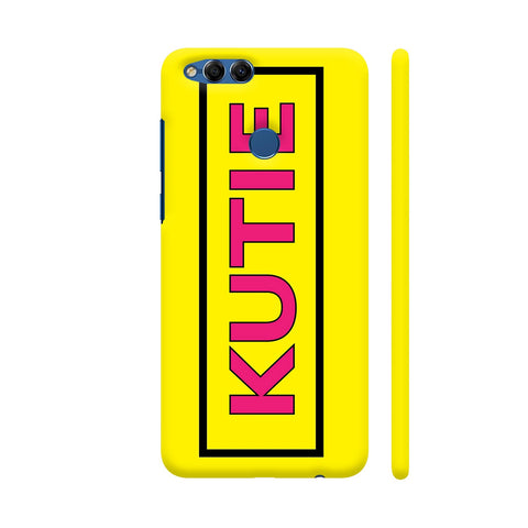 Kutie On Yellow Honor 7X Cover | Artist: Malls