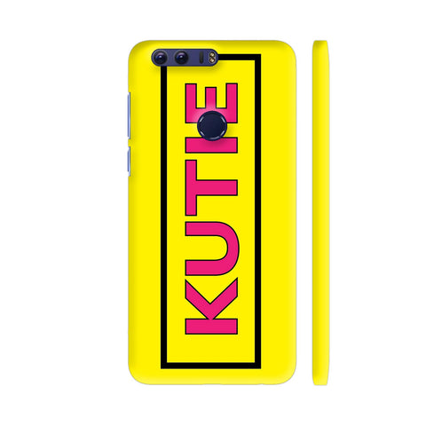 Kutie On Yellow Honor 8 Cover | Artist: Malls