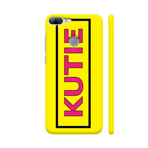Kutie On Yellow Honor 9 Lite Cover | Artist: Malls
