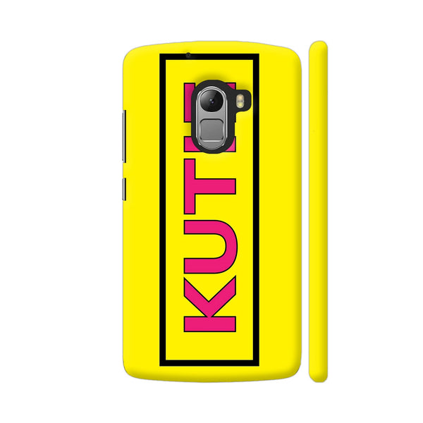 Kutie On Yellow Lenovo K4 Note Cover | Artist: Malls