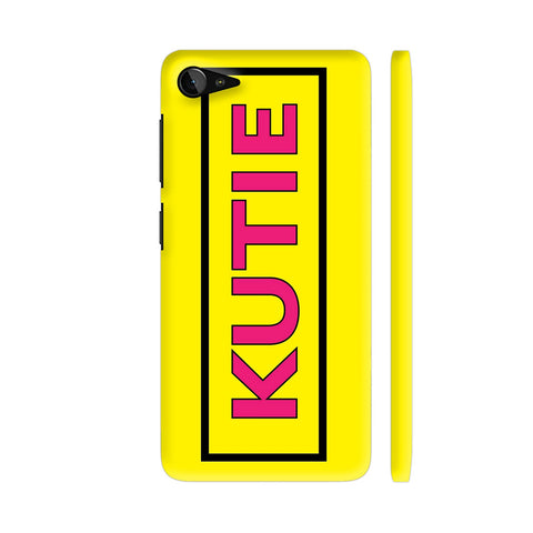 Kutie On Yellow Lenovo Z2 Plus Cover | Artist: Malls