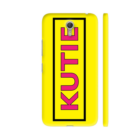Kutie On Yellow Lenovo Zuk Z1 Cover | Artist: Malls