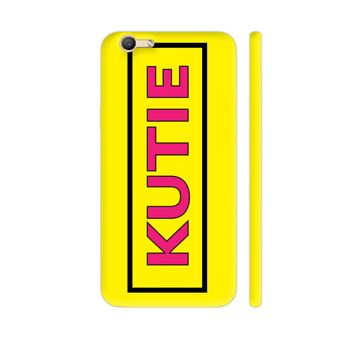 Kutie On Yellow Vivo Y55s Cover | Artist: Malls