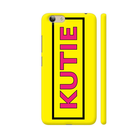 Kutie On Yellow Vivo Y53 Cover | Artist: Malls