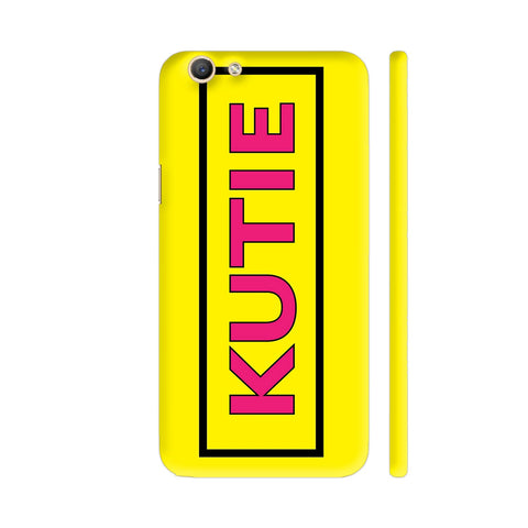 Kutie On Yellow Vivo Y69 Cover | Artist: Malls