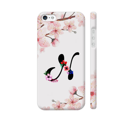 Letter N Watercolor iPhone SE Cover | Artist: Kiran Maurya