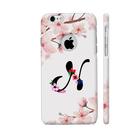 Letter N Watercolor iPhone 6 / 6s Logo Cut Cover | Artist: Kiran Maurya
