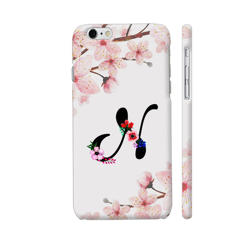 Letter N Watercolor iPhone 6 Plus / 6s Plus Cover | Artist: Kiran Maurya