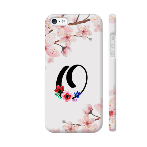 Letter O Watercolor iPhone SE Cover | Artist: Kiran Maurya