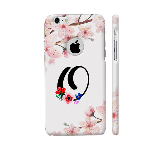 Letter O Watercolor iPhone 6 / 6s Logo Cut Cover | Artist: Kiran Maurya