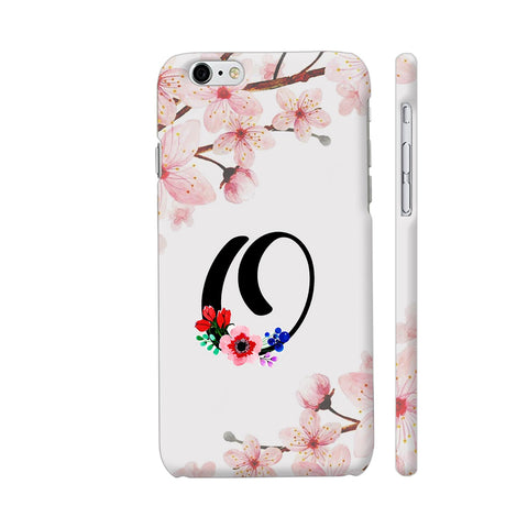 Letter O Watercolor iPhone 6 / 6s Cover | Artist: Kiran Maurya
