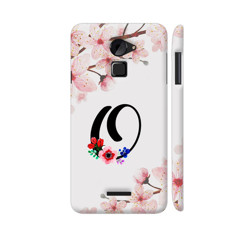 Letter O Watercolor Coolpad Note 3 Lite Cover | Artist: Kiran Maurya