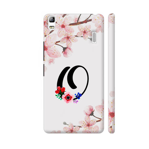 Letter O Watercolor Lenovo K3 Note Cover | Artist: Kiran Maurya