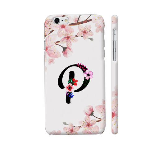 Letter P Watercolor iPhone 6 Plus / 6s Plus Cover | Artist: Kiran Maurya