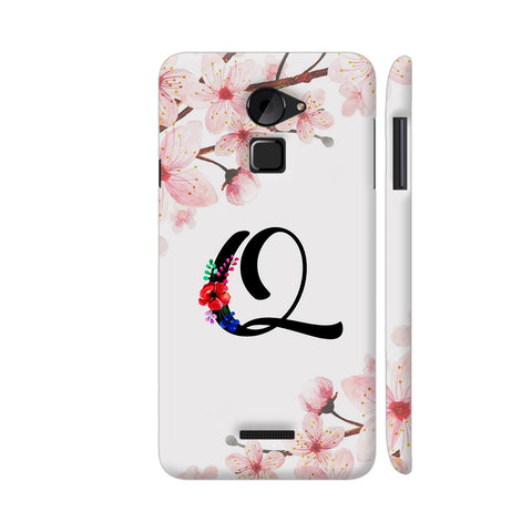 Letter Q Watercolor Coolpad Note 3 Lite Cover | Artist: Kiran Maurya
