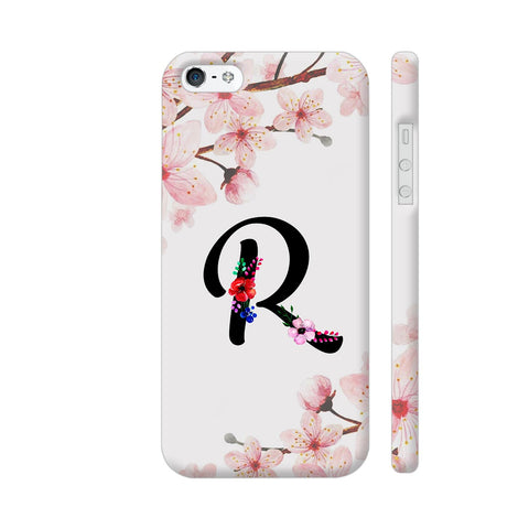 Letter R Watercolor iPhone SE Cover | Artist: Kiran Maurya