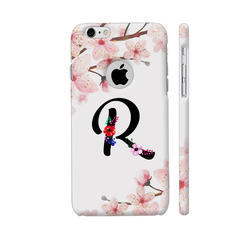Letter R Watercolor iPhone 6 / 6s Logo Cut Cover | Artist: Kiran Maurya