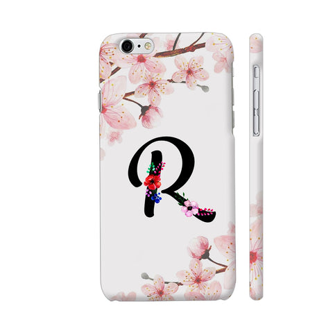 Letter R Watercolor iPhone 6 Plus / 6s Plus Cover | Artist: Kiran Maurya