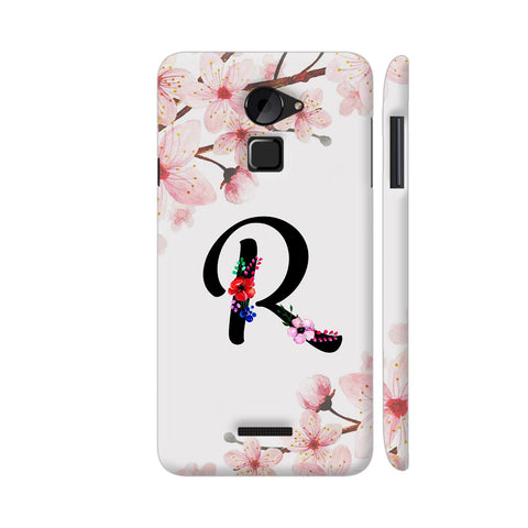 Letter R Watercolor Coolpad Note 3 Lite Cover | Artist: Kiran Maurya