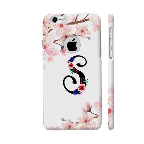 Letter S Watercolor iPhone 6 / 6s Logo Cut Cover | Artist: Kiran Maurya